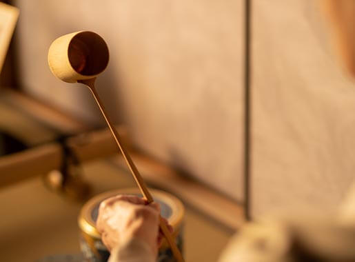 Tasting -Tea Ceremony at the Detached House-