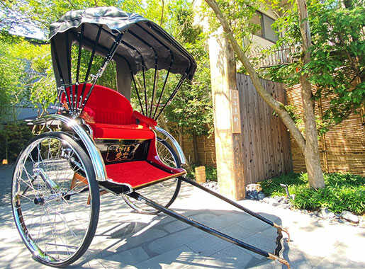 Riding -Feel the air, Take in the scenery of Jinrikisha Ride-